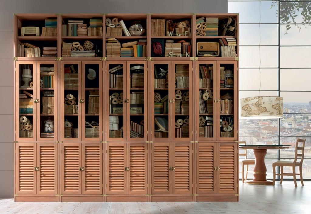 Le pareti attrezzate modulari per ottimizzare lo spazio e creare mobili contenitori ampi e belli da vedere