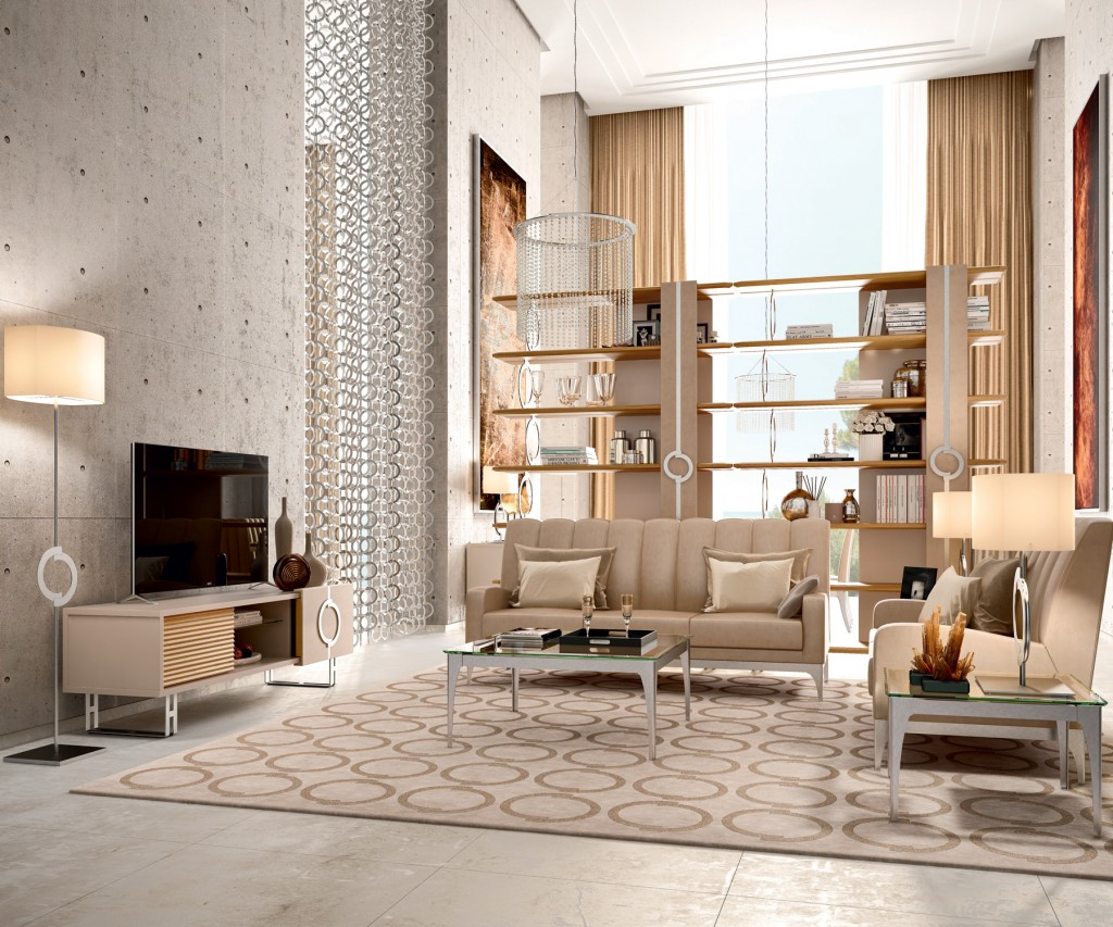 Con Linea Concept Caroti propone un design contemporaneo componibile.