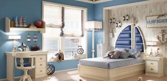 Cordage è una linea di mobili per la cameretta firmata Vecchia Marina by Caroti