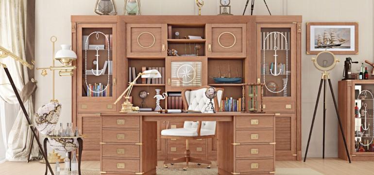 3 motivi per acquistare uno studio con mobili in stile for Arredamento vecchia marina