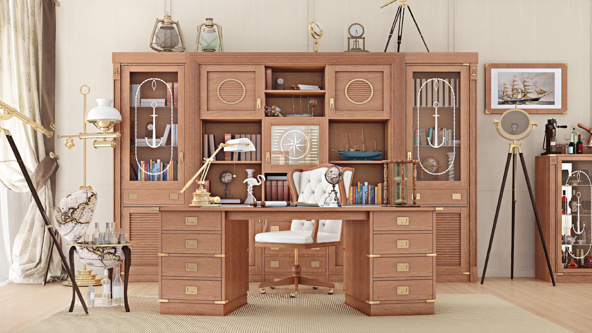 3 motivi per acquistare uno studio con mobili in stile - Mobili in stile ...