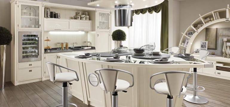 Bolina è la cucina in stile vecchia marina, elemento di punta delle proposte Caroti per l'arredamento cucina