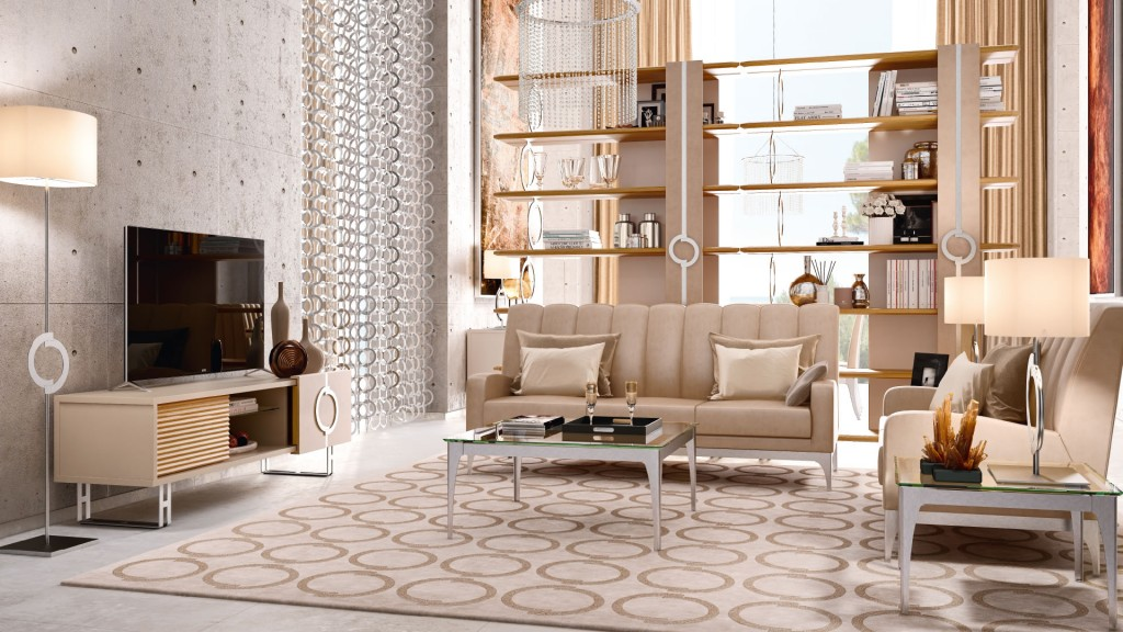 Living Room Desert Rose by Caroti Concept