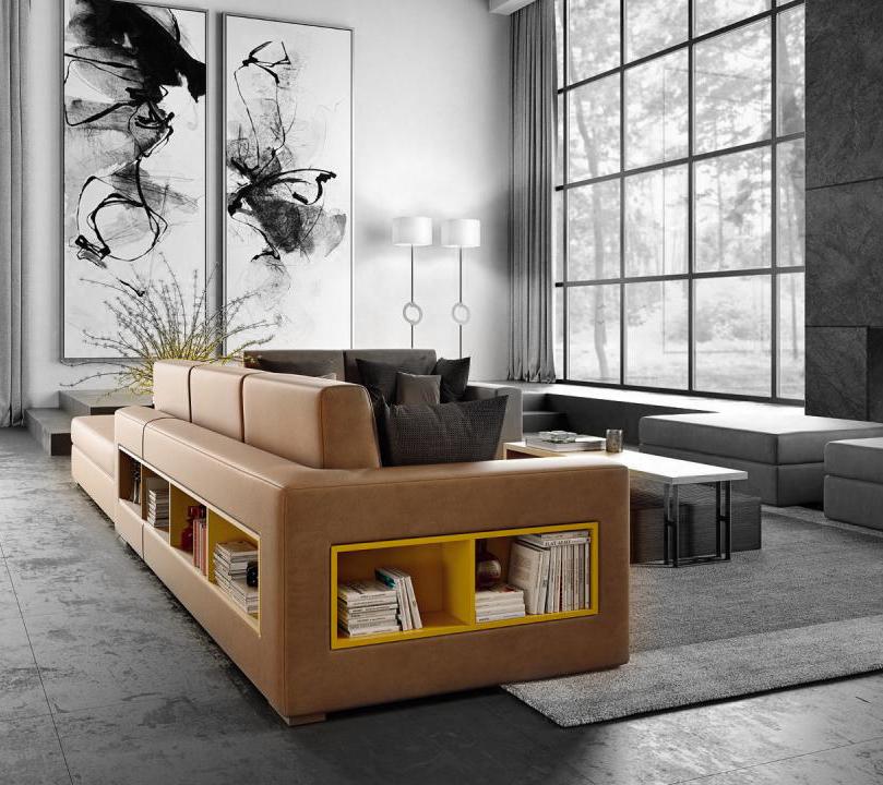 Divano Theca Concept by Caroti: componibile, contenitore e versatile