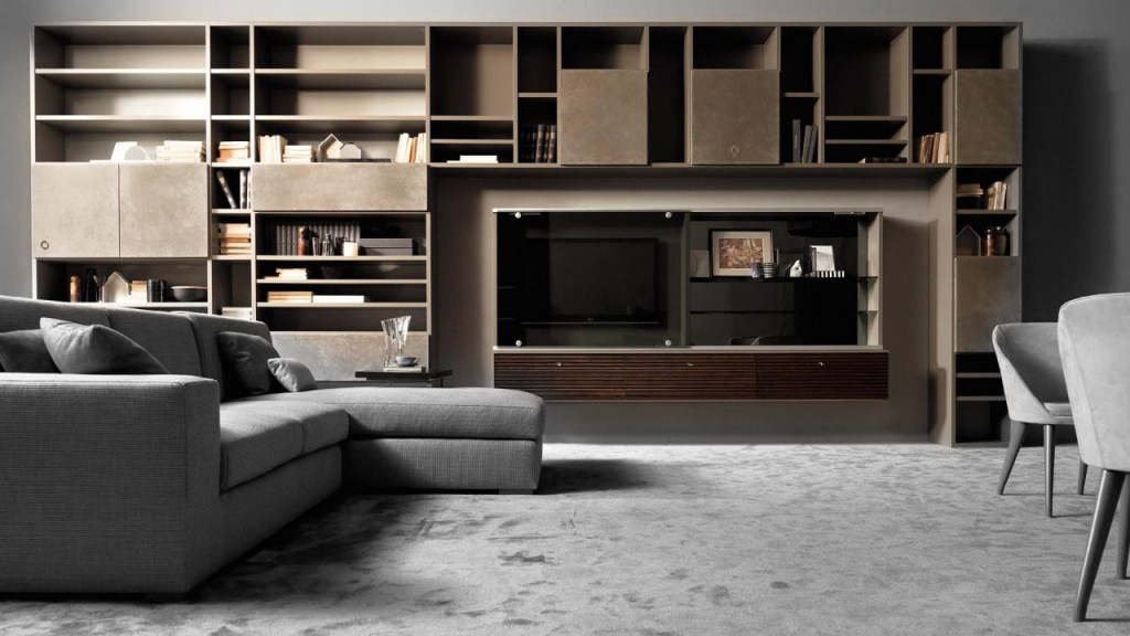 Mondrian is a modular wall system by Concept Caroti