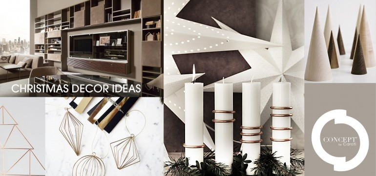 Christmas decorations with intense and elegant style
