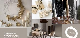 Oro e natural chic per il tuo Natale