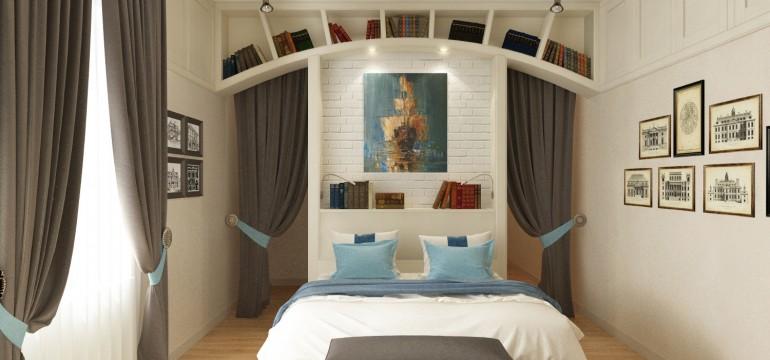 Armadio A Muro Design.Camera Matrimoniale Con Armadio A Muro Caroti Design Mag