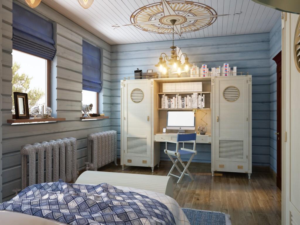 Camera da letto per genitori e figli 01