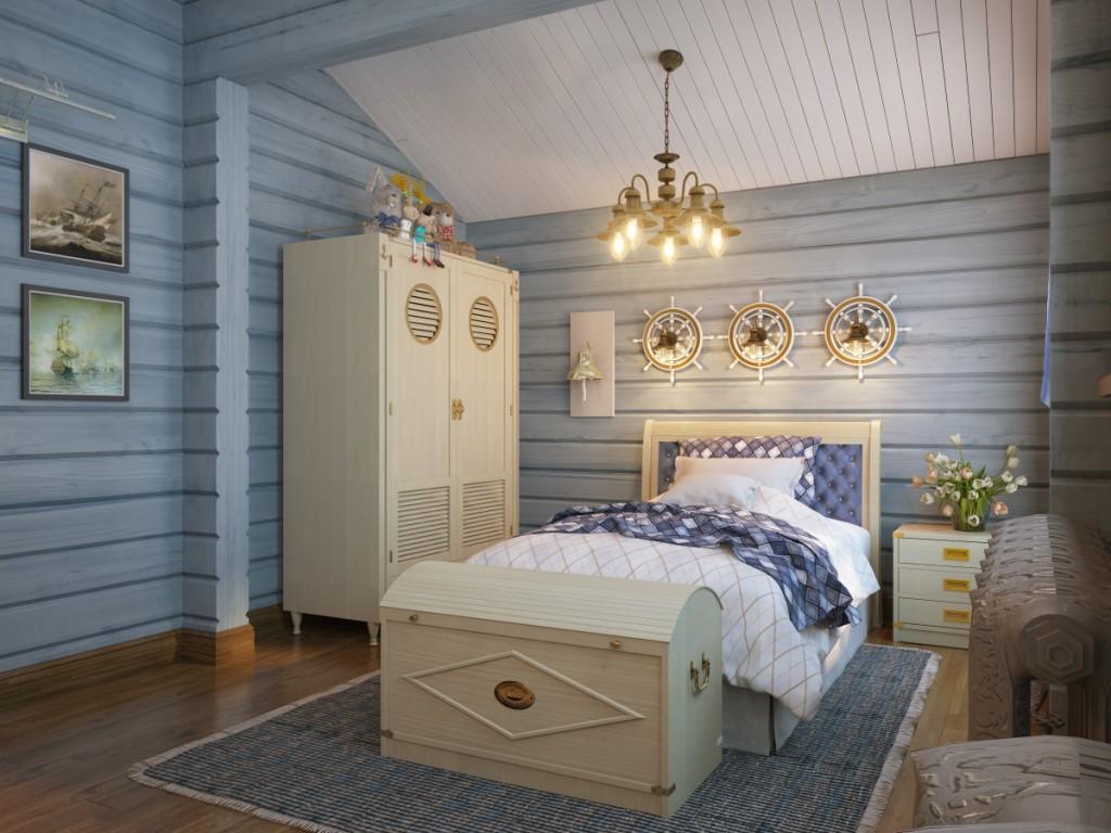 Camera da letto per genitori e figli 02