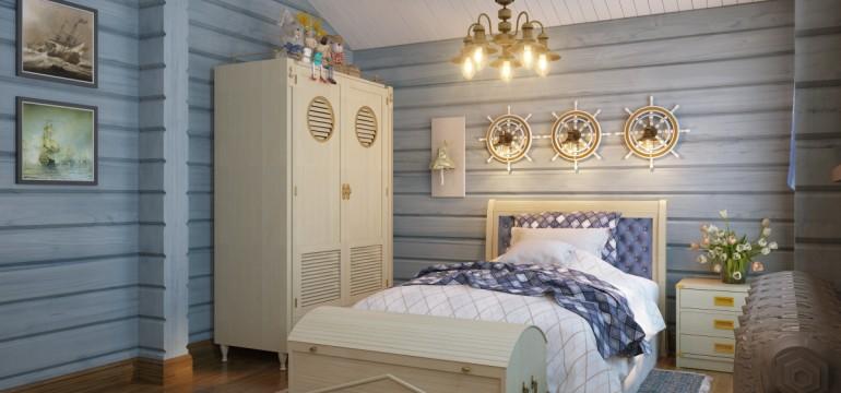 Camera da letto per genitori e figli - caroti design mag