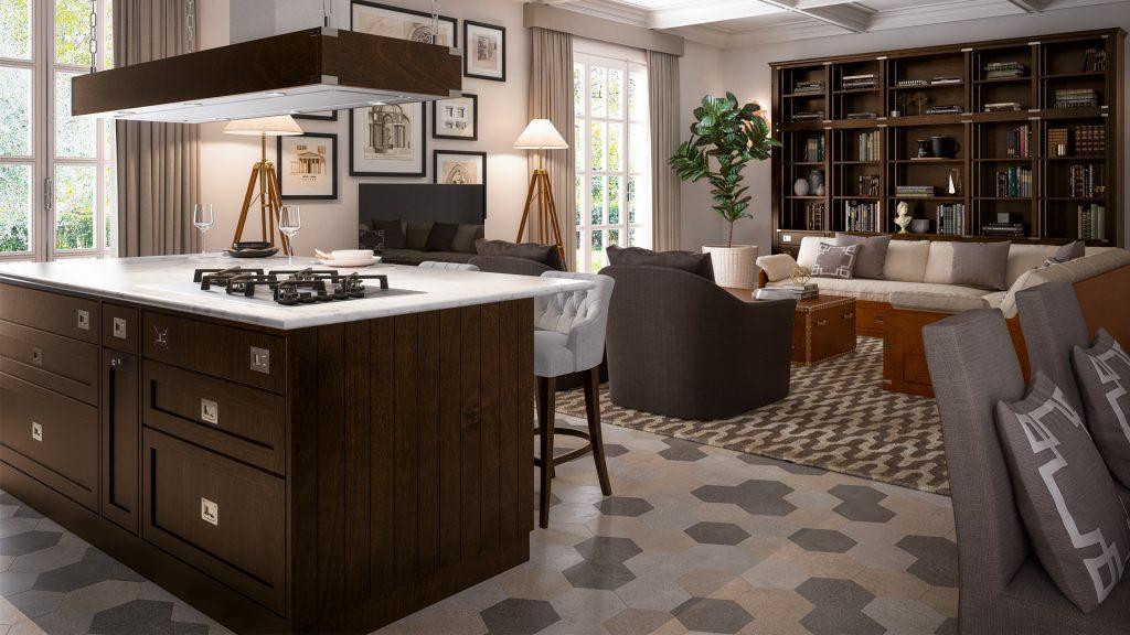 Interiordesigntrend2018 cucina e soggiorno open space e for Concetto aperto cucina soggiorno