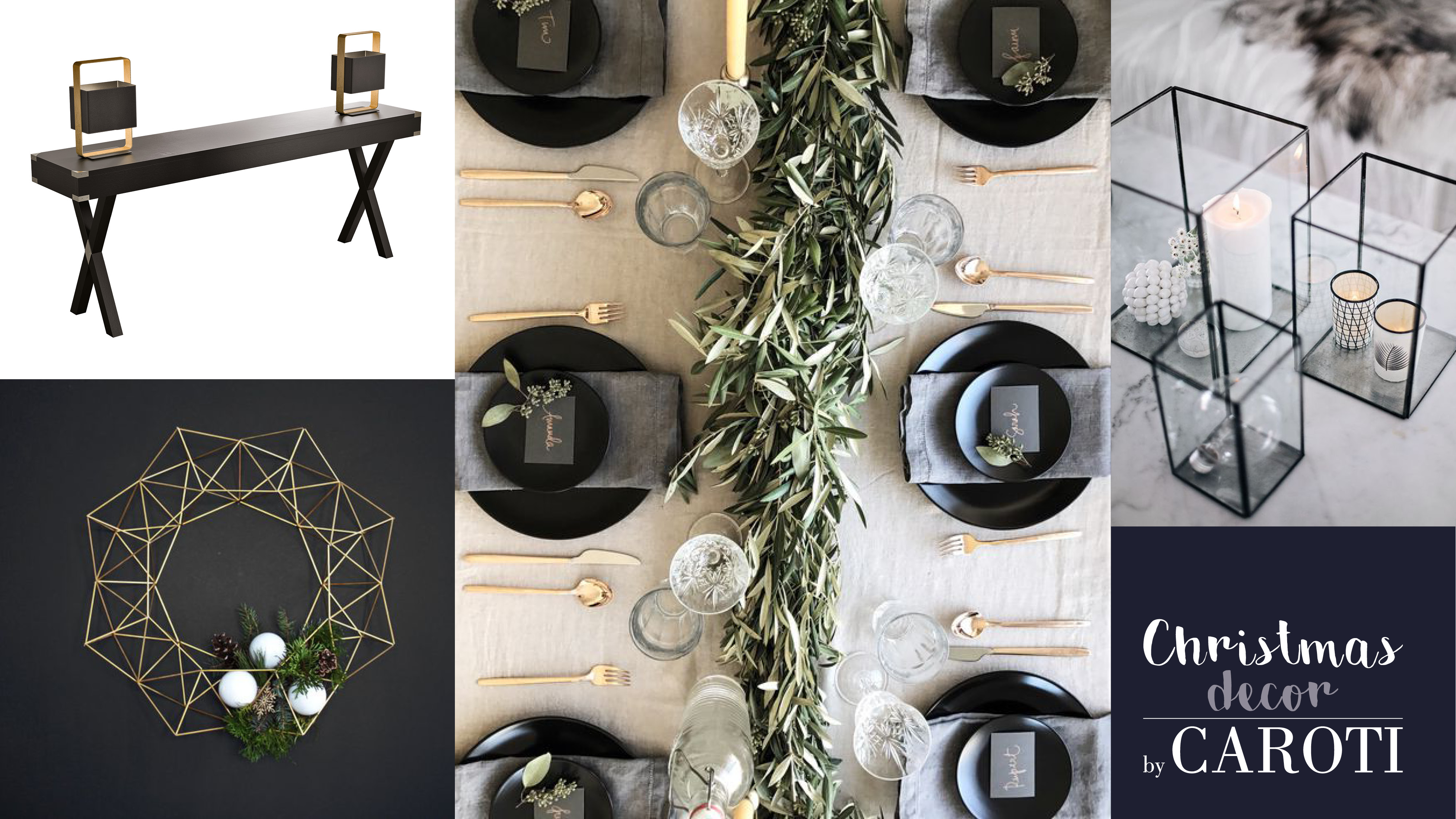 christmas decor tips by caroti in black glam style #2