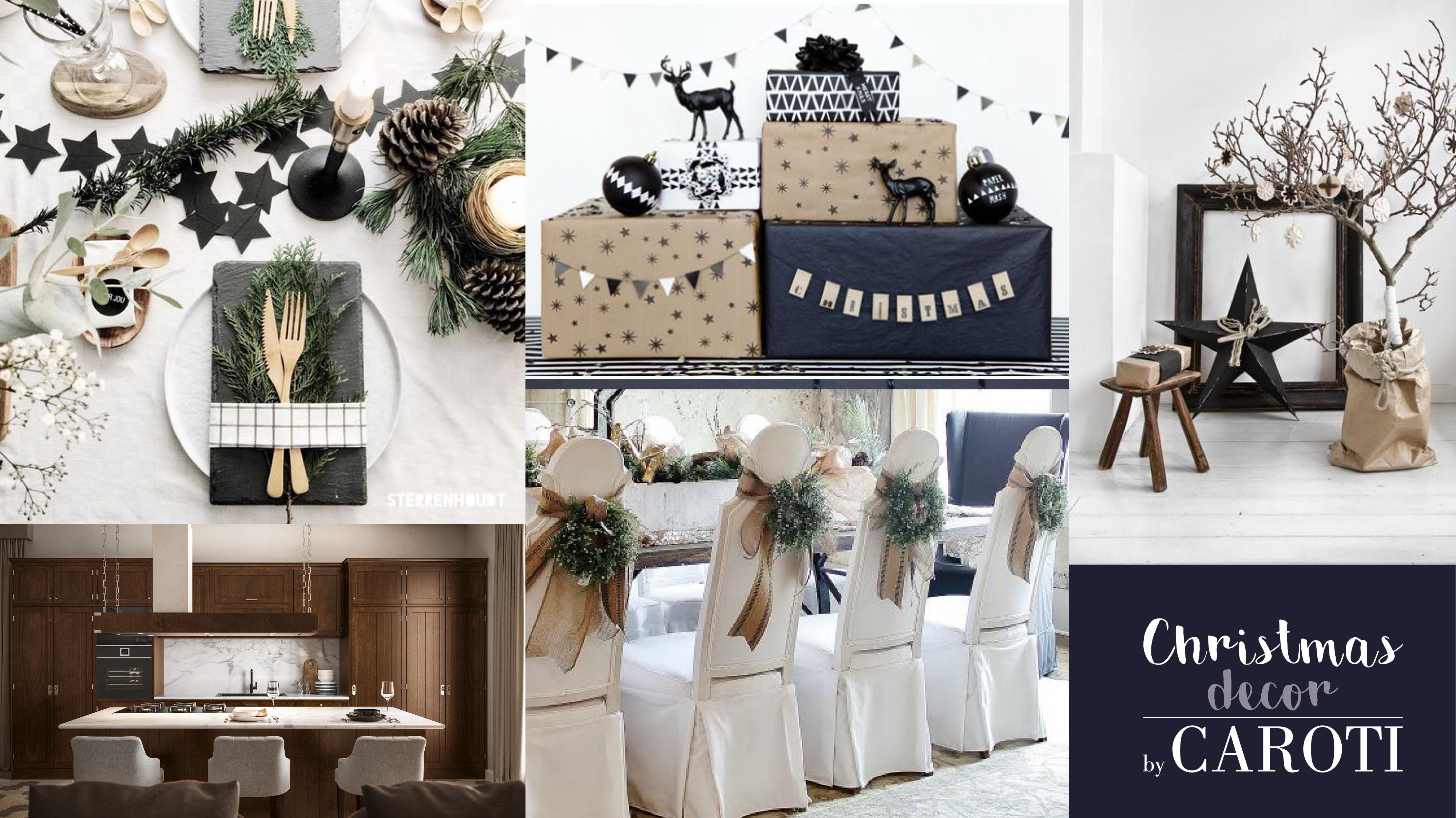 idee per decorare a natale in stile scandinavo black by caroti