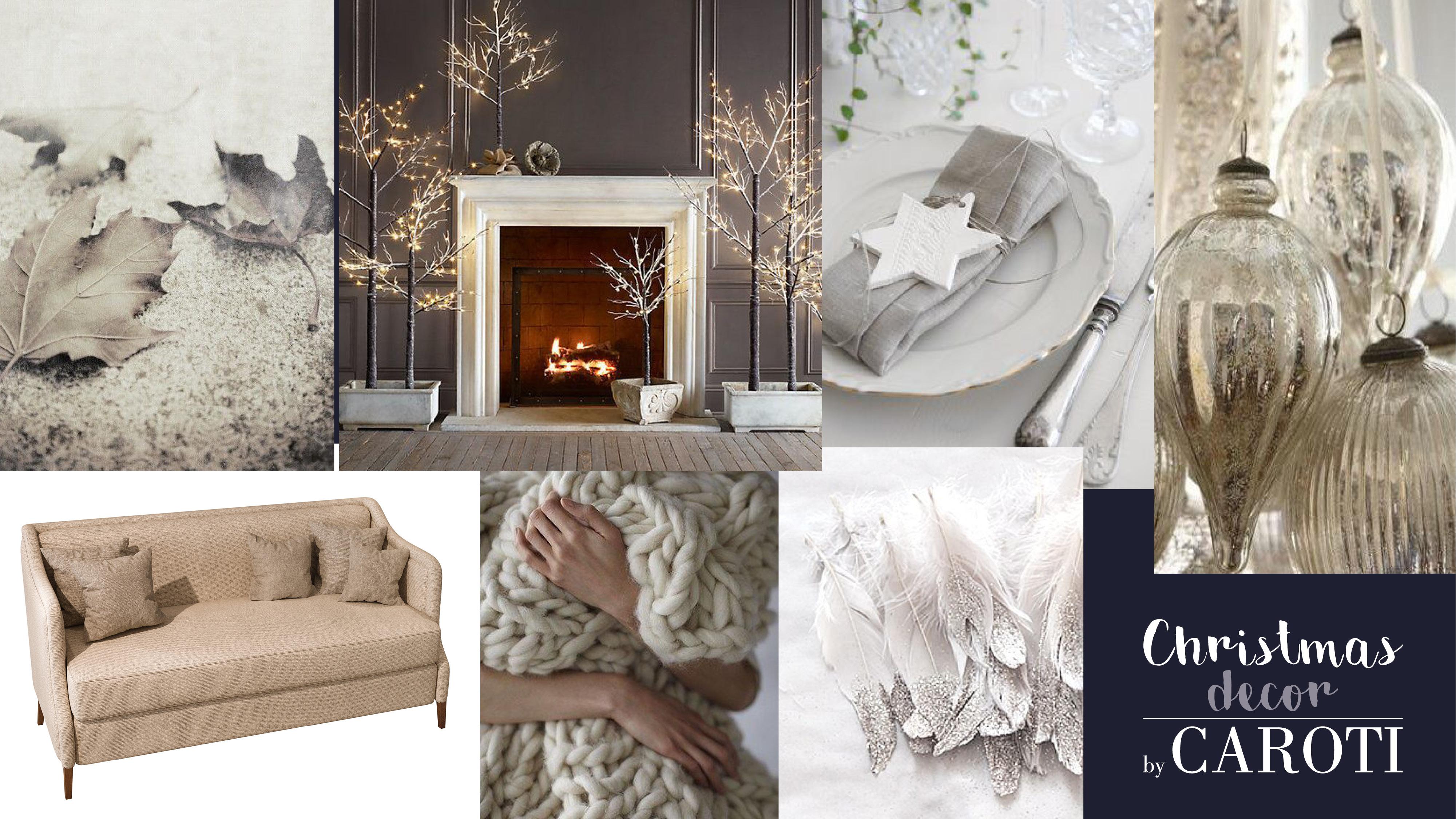 decorazioni natale bianco meccaoro
