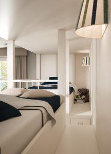 upper beds passage