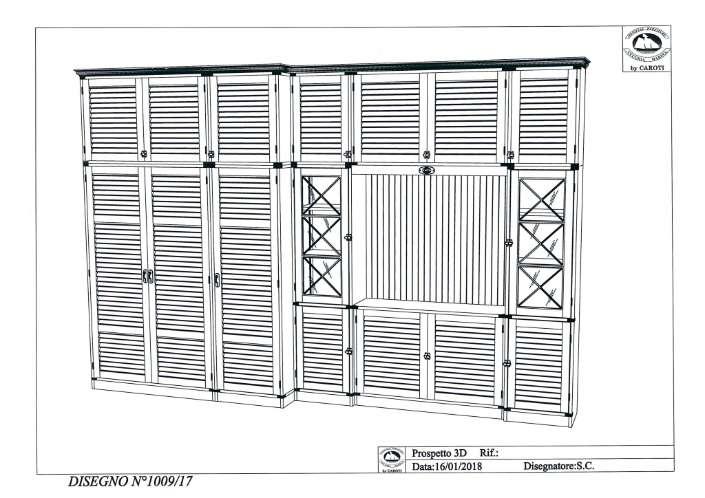 Libreria Custom Progetto CAD/3D
