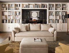 Zona relax in casa in stile vintage