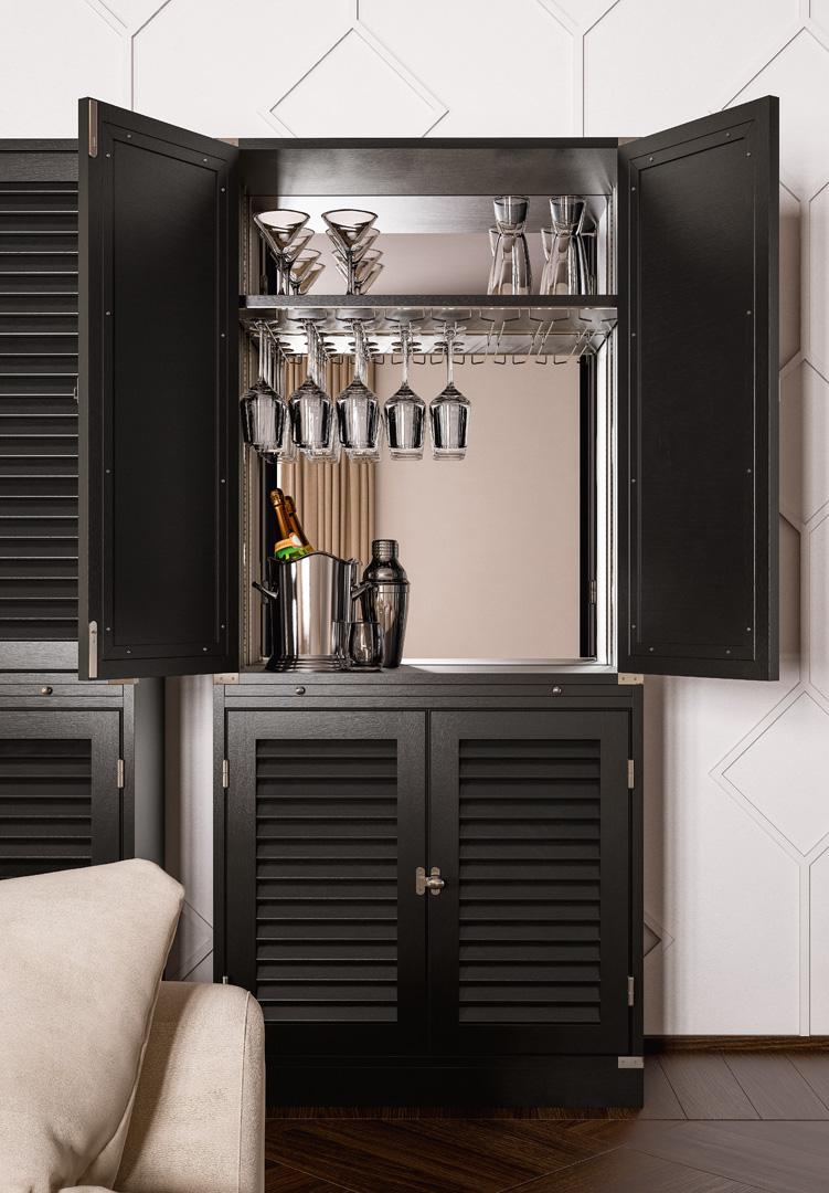 Amarcord Bar Cabinet