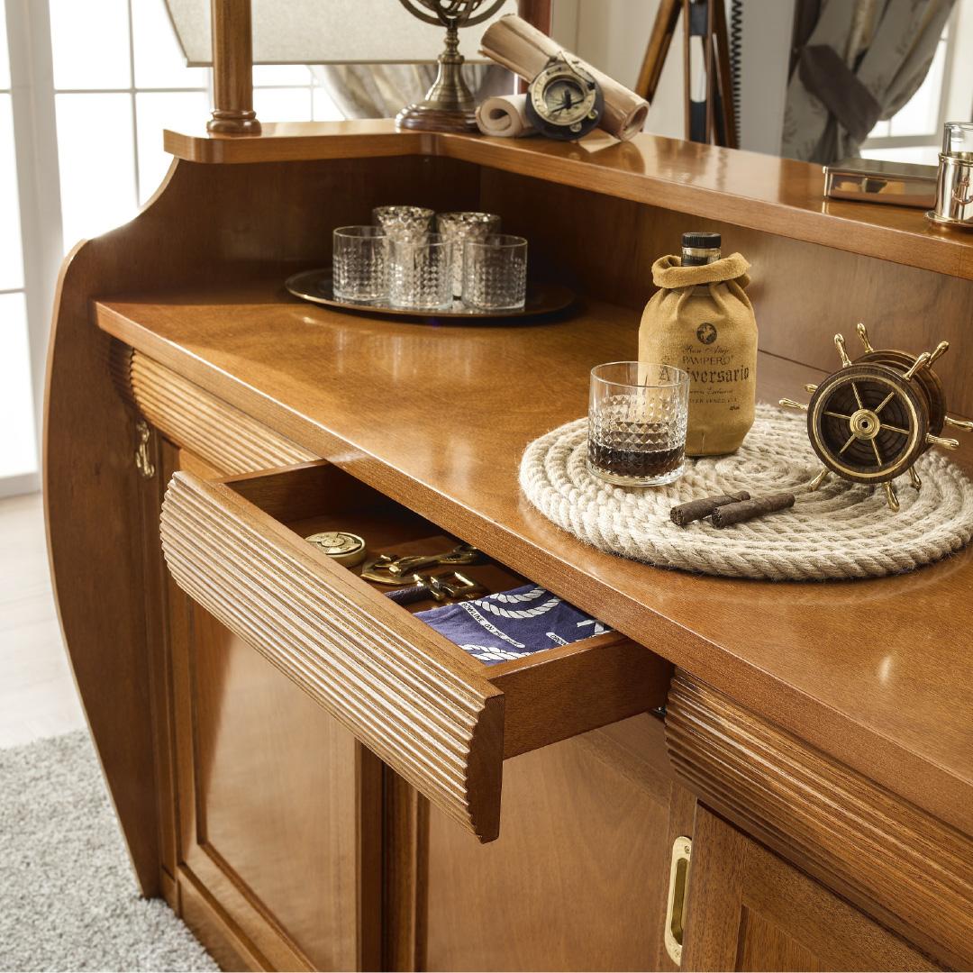 Caravella Bar Cabinet, storage