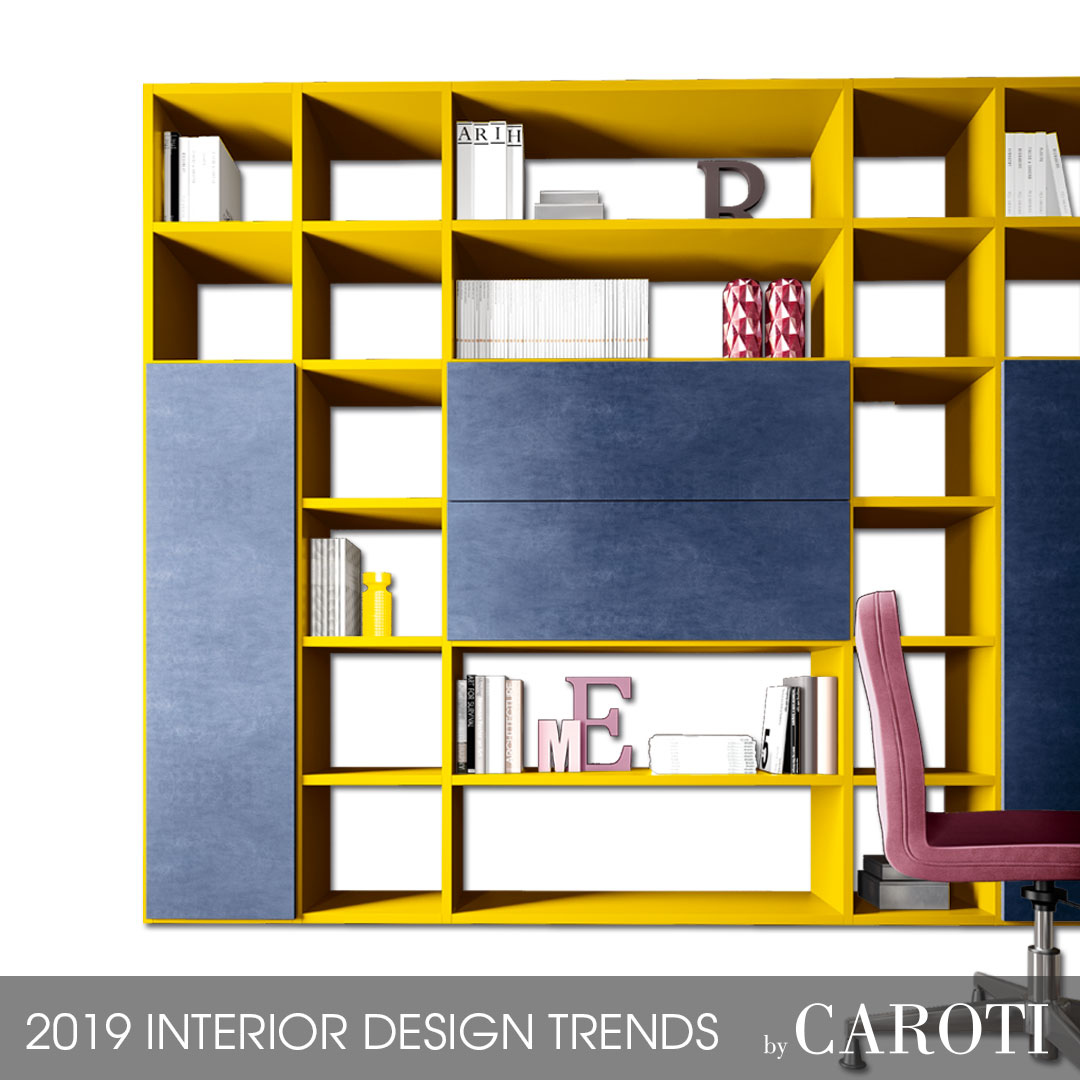 Concept by Caroti - Rubik modular wall unit