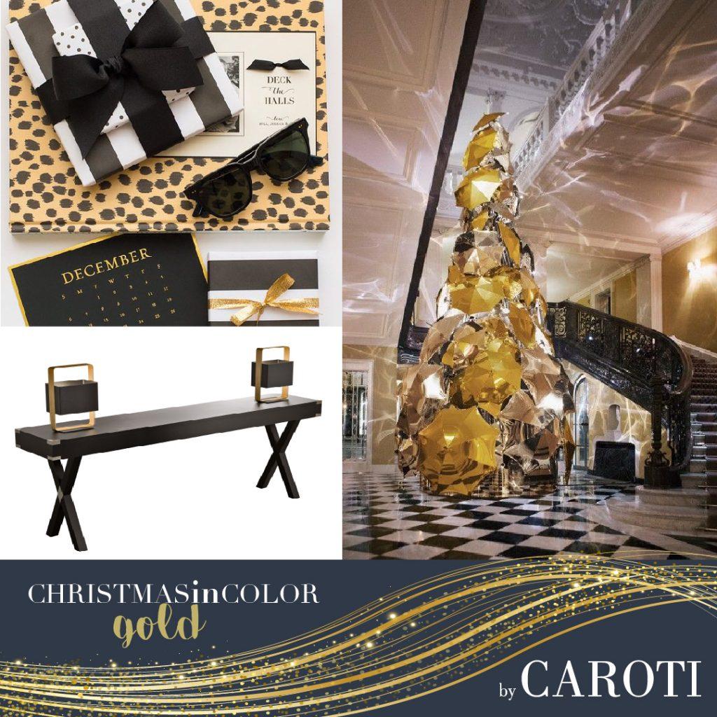 Christmas 2018 gold Caroti Dolcevita