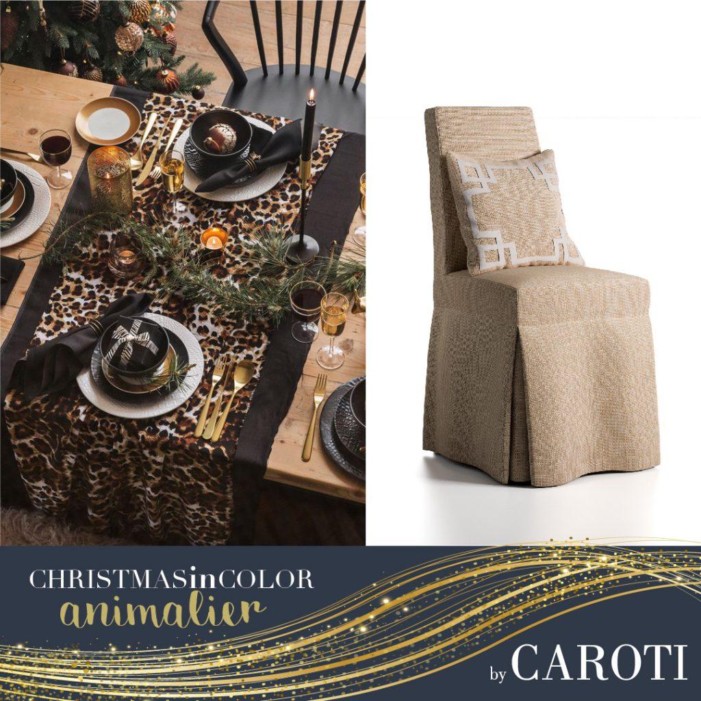 Christmas 2018 gold animalier Caroti Portofino