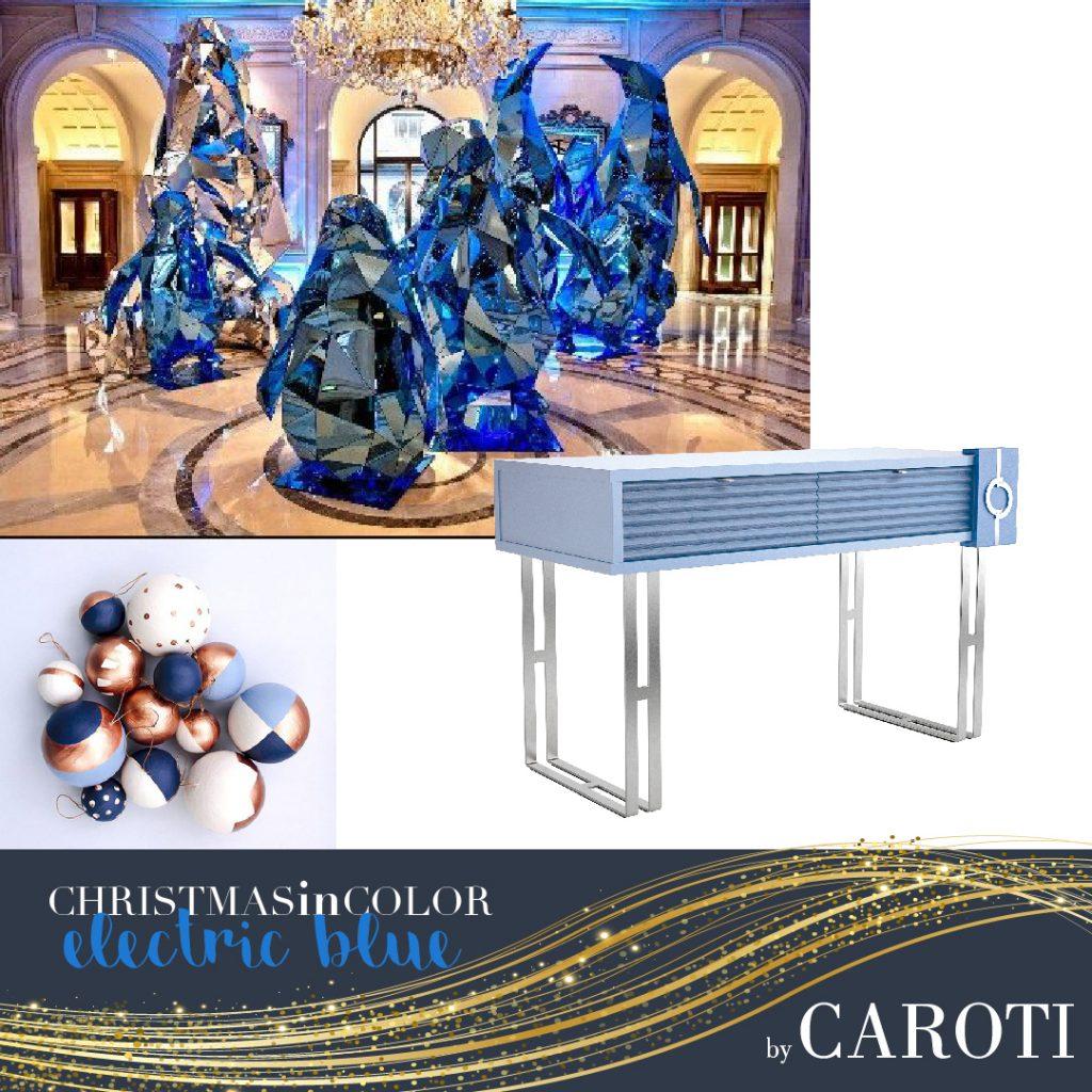 Natale 2018 Blu elettrico Caroti