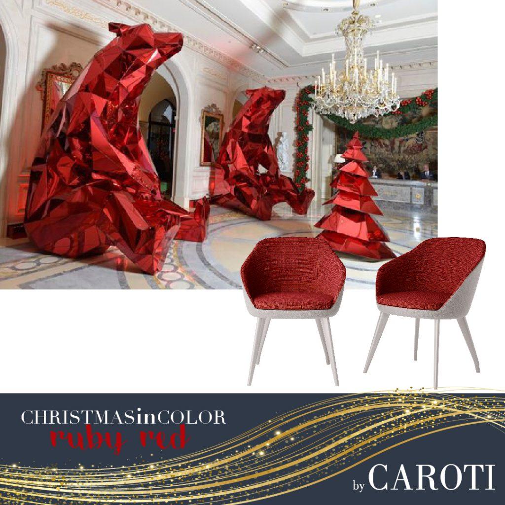 Natale 2018 Rosso rubino Caroti