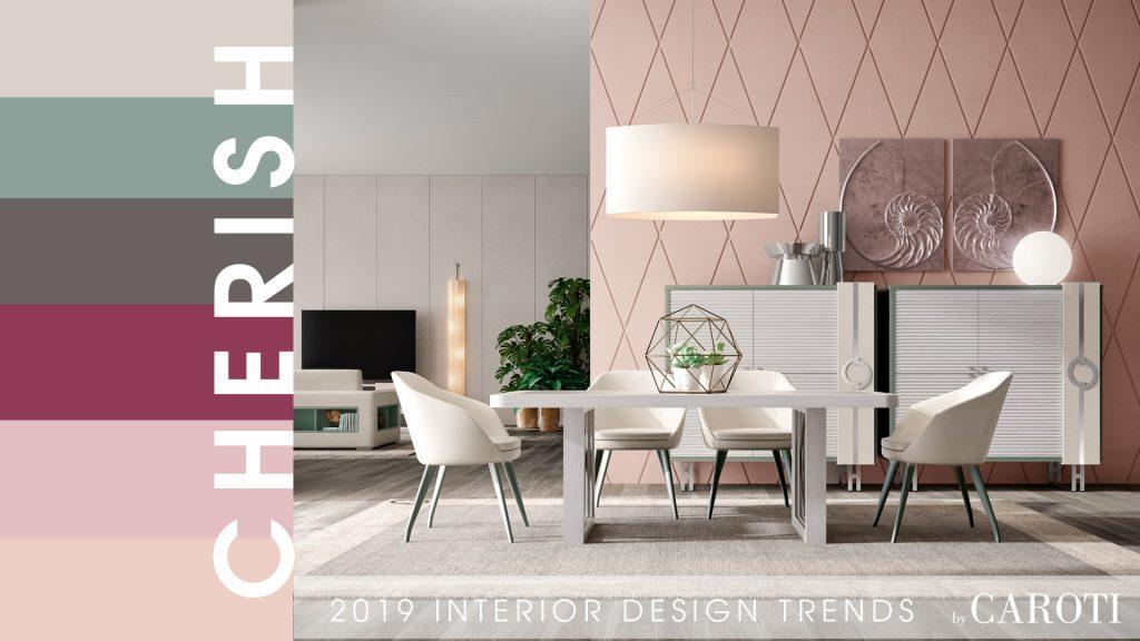 stile per la casa 2019 cherish Concept by Caroti tavolo con sedie sala da pranzo