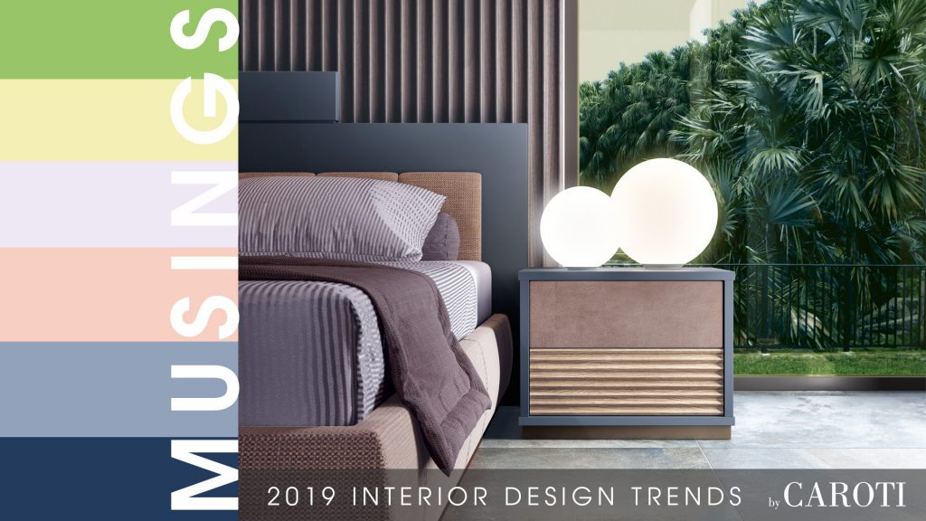 decorate with cool colors Musings palette Pantone Bedroom Stylo Concept by Caroti