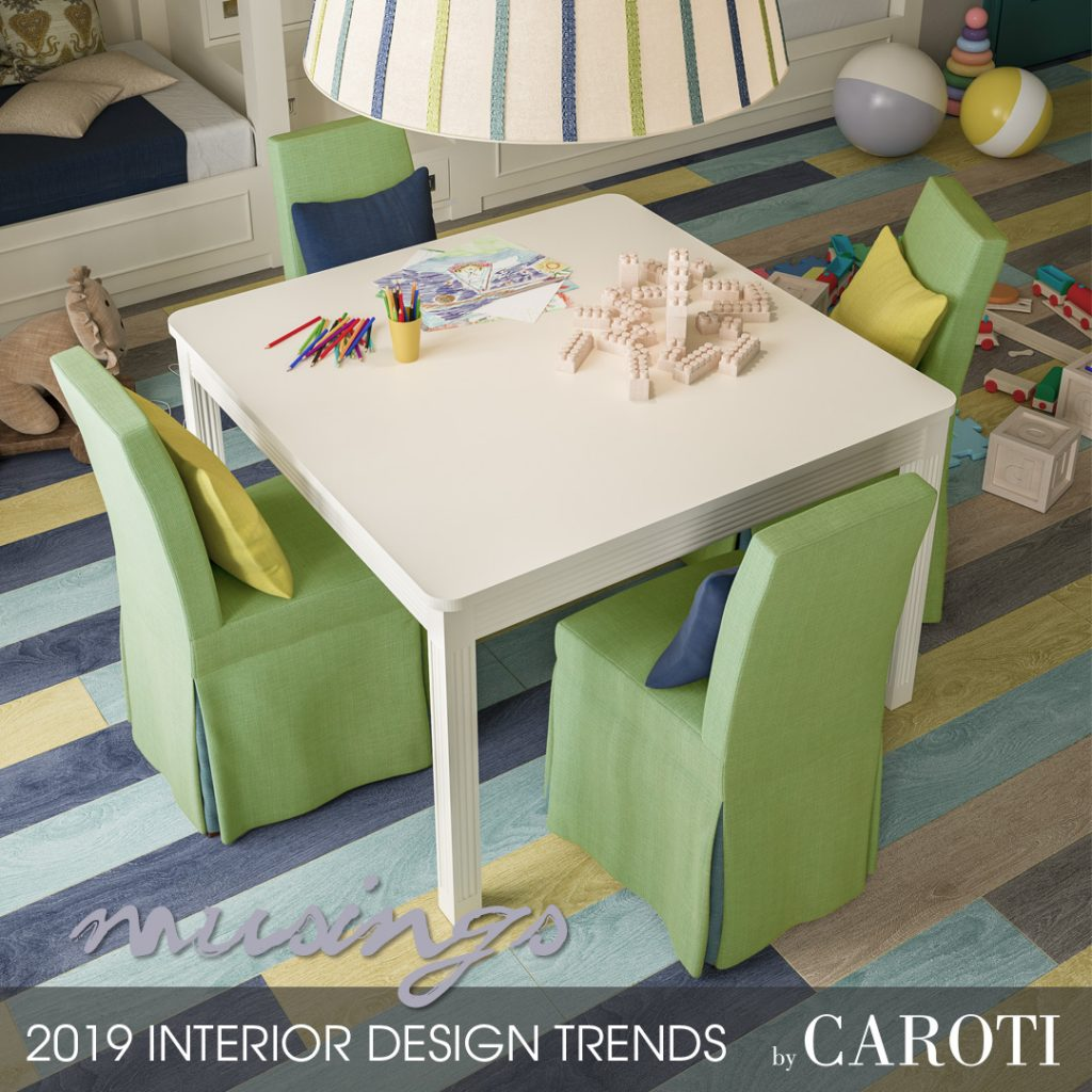decorate with cool colors Musings palette Pantone Vecchia Marina by Caroti furniture nautical style