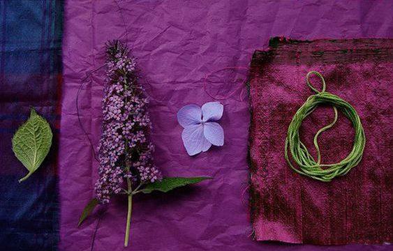 arredare con i colori freddi blu verde viola