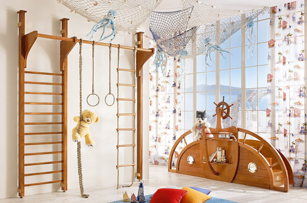 montessori kids bedroom play area