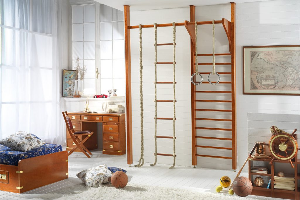 montessori kids bedroom gymnasium