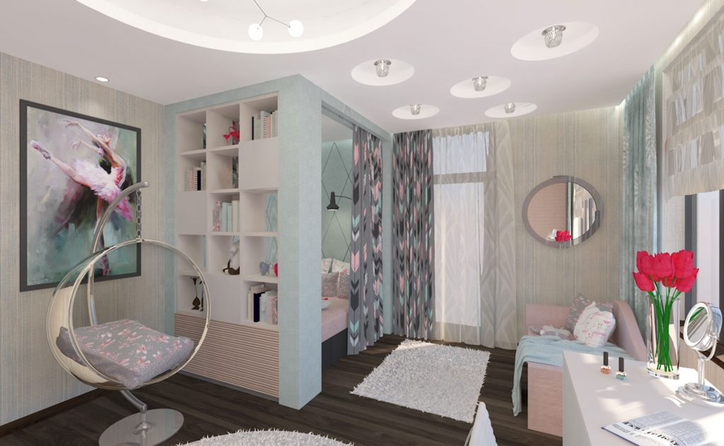 modern kids bedroom concept by caroti