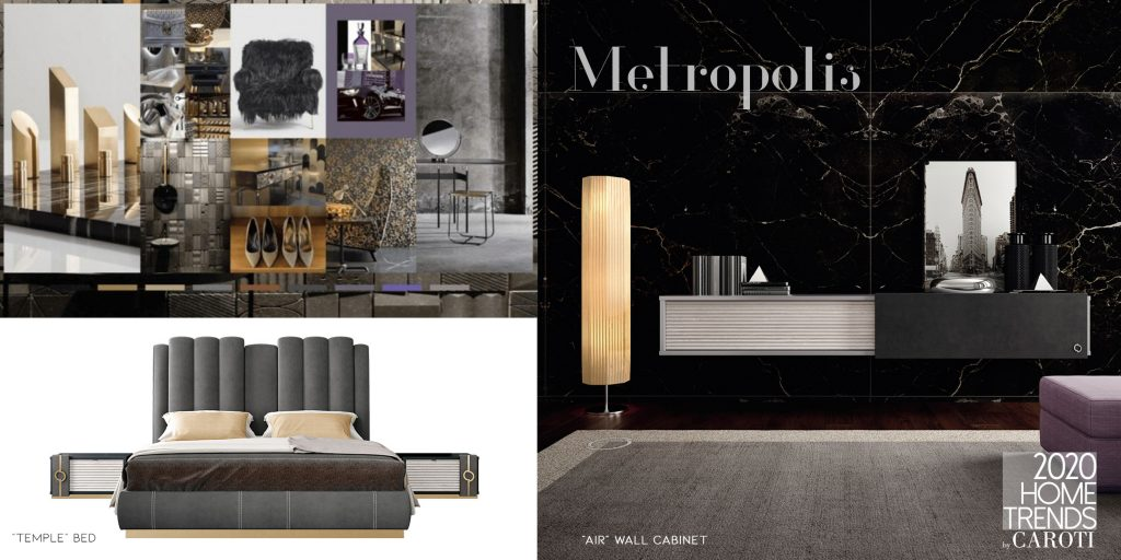 Interior Design Trends 2020 Caroti Metropolis Pantone