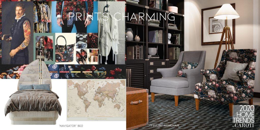 Interior Design Trends 2020 Caroti Prints Charming Pantone