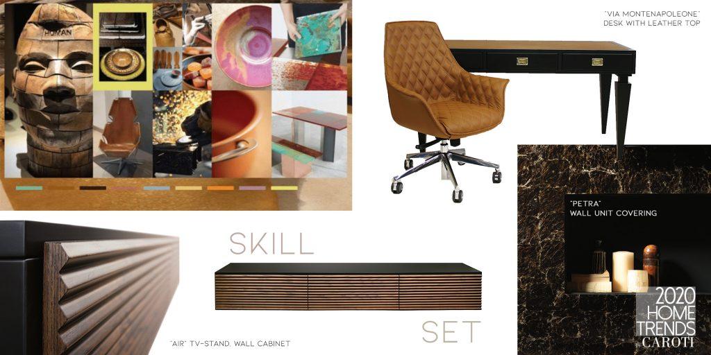 Interior Design Trends 2020 Caroti Skill Set Pantone