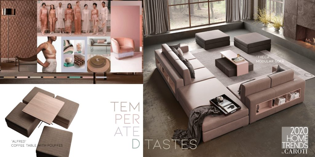 Interior Design Trends 2020 Caroti Temperated Tastes Pantone